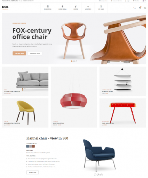 dsk_furniture_simple_store_woo_commerce_theme