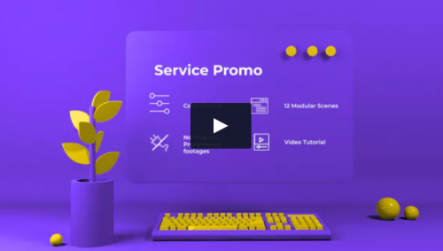 service_platform_product_promo_video_ae_template