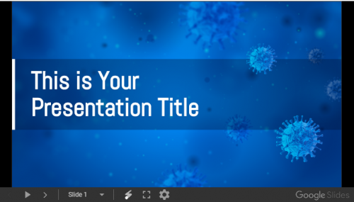 free_medical_powerpoint_template_google_slides_theme_with_virus