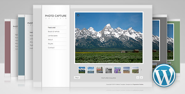 Galleria - Photography and Portfolio Theme - ThemeForest Item for Sale