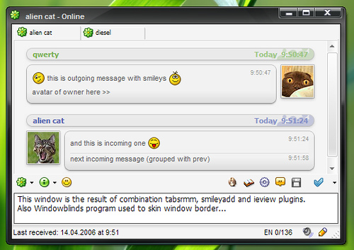 Miranda IM - Best Desktop Instant Messaging Software