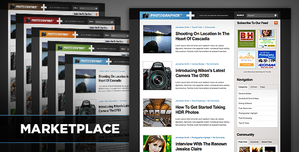 Marketplace Community WordPress Theme Download