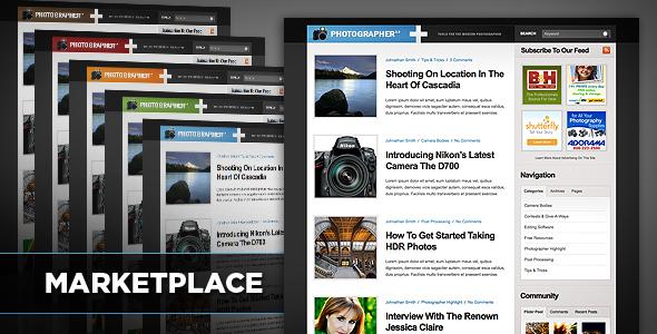 Marketplace Community WordPress Theme Download