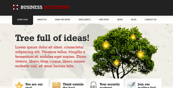 Business Solutions - ThemeForest Item for Sale