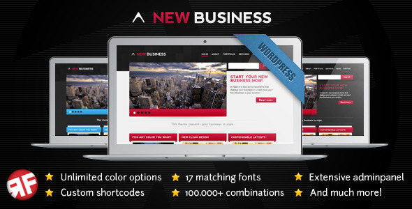 New Business WordPress Theme