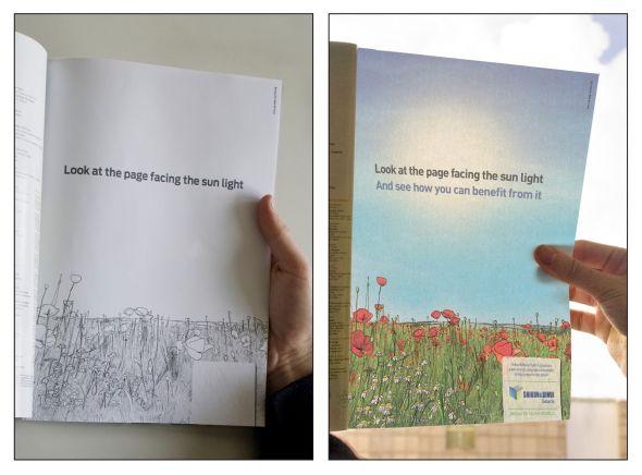 Sun light - Creative Print Advertisements