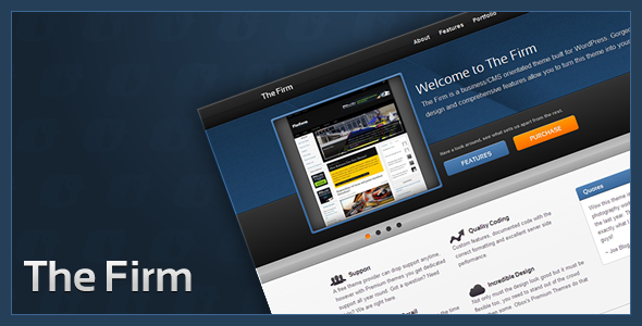 The Firm WordPress Theme