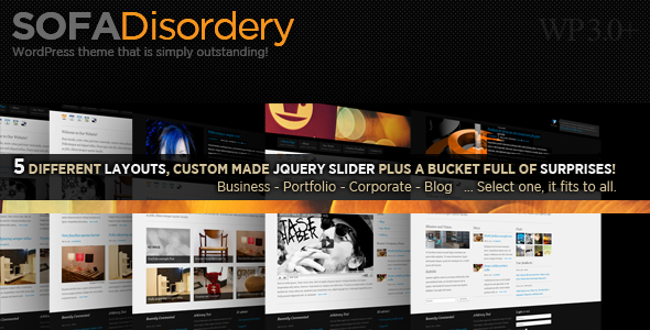 Sofa Disordery WordPress Theme