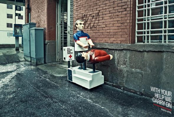 Red Cross: CPR - Creative Print Advertisements