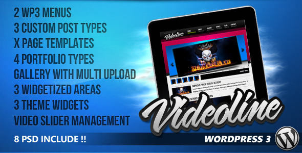 Videoline WordPress Theme