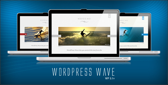 WordPress Wave Portfolio + Blog