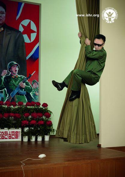 Scared Leaders, Kim - Creative Print Advertisements