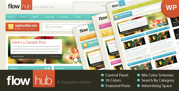 Flowhub - ThemeForest Item for Sale
