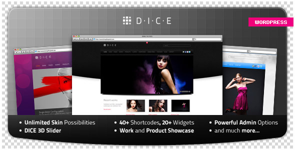 DICE WordPress Theme