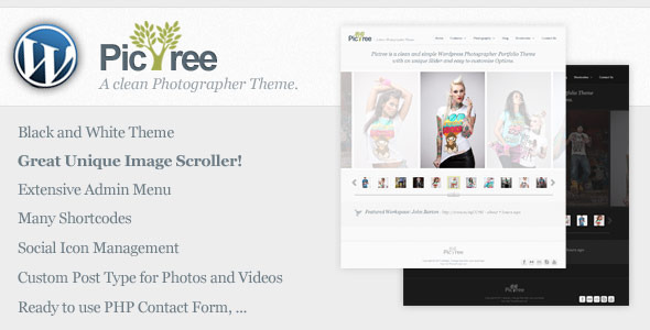 PicTree WordPress Theme