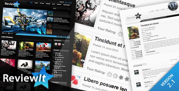ReviewIt - Review & Community WordPress Theme Download