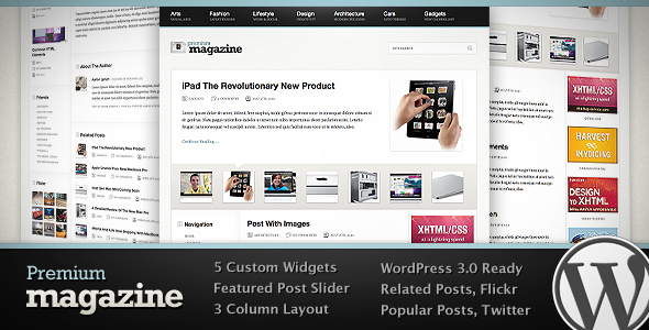 Premium Magazine WordPress Theme Download