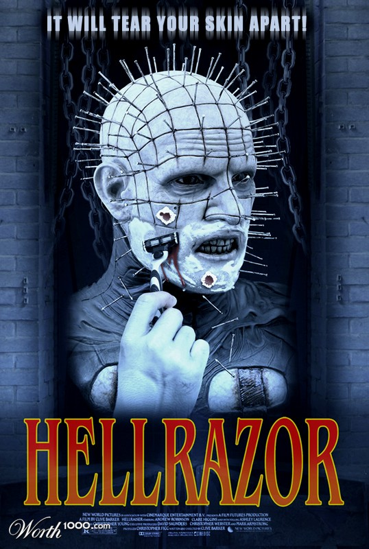 Hellrazor - it will tear your skin apart!