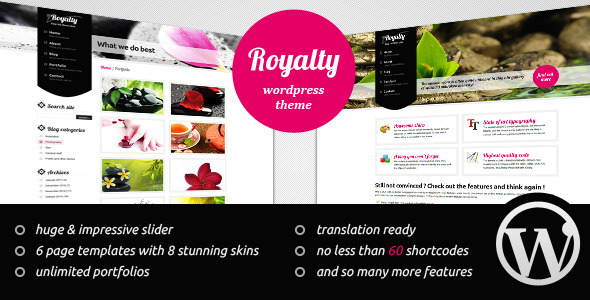Royalty WordPress Theme