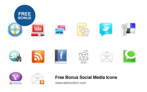 Free Social Network icons download
