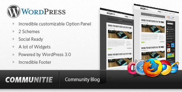 Communitie - WordPress Blog Download