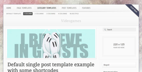 Frailespatique WordPress Theme
