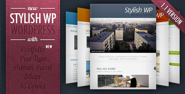 Download Stylish WP Theme