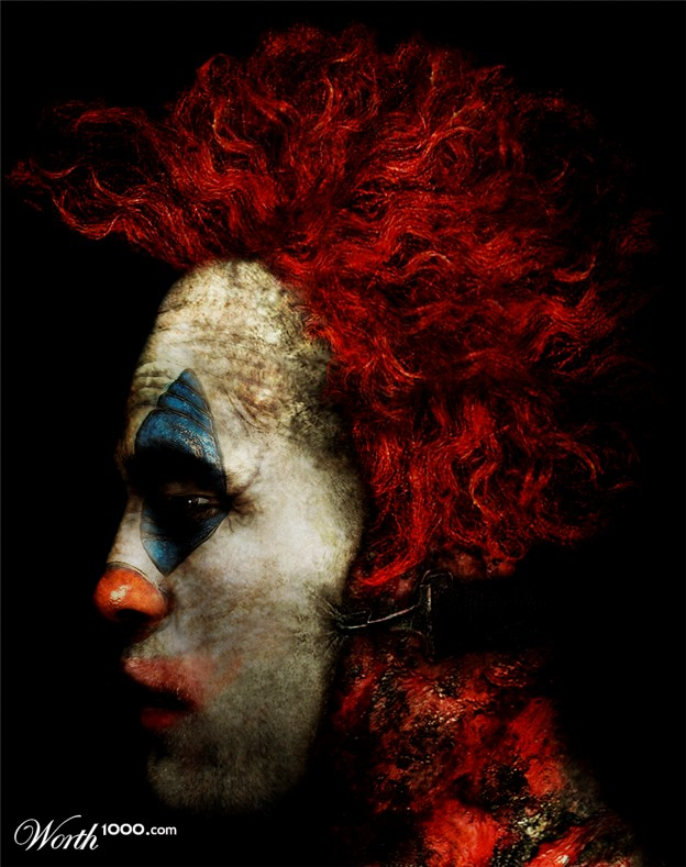 Robert Pattinson The Clown