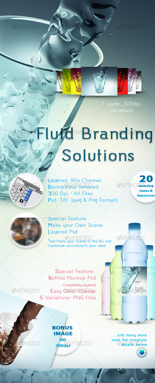 Fluid Branding Solutions - GraphicRiver Item for Sale