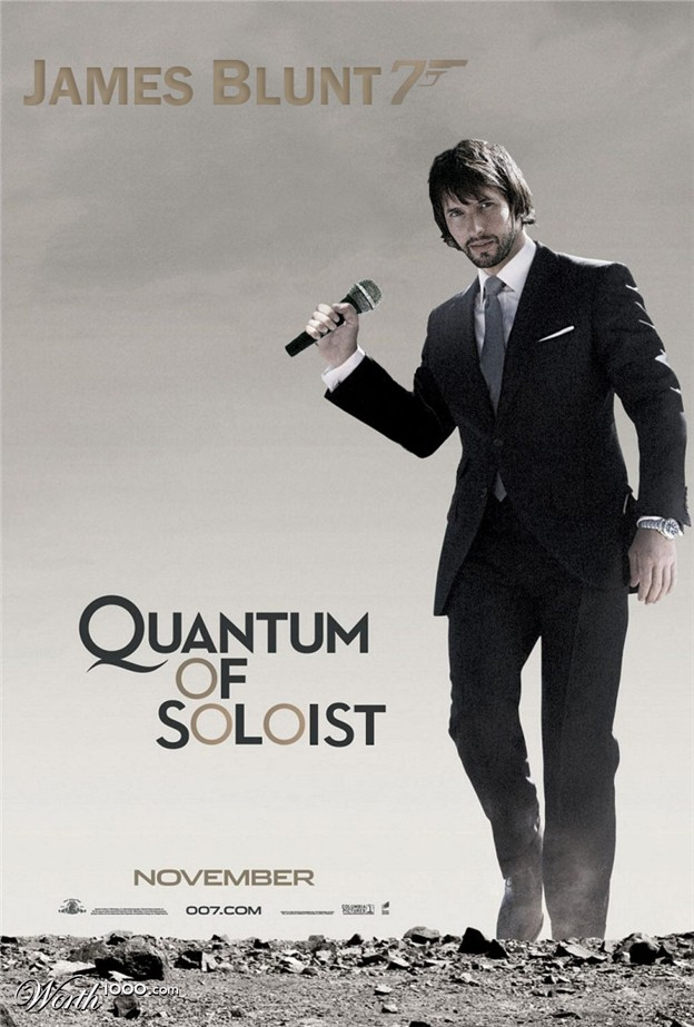 James Blunt 007 - Quantum of Soloist