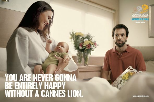 Cannes Lions: Baby - Creative Print Advertisements