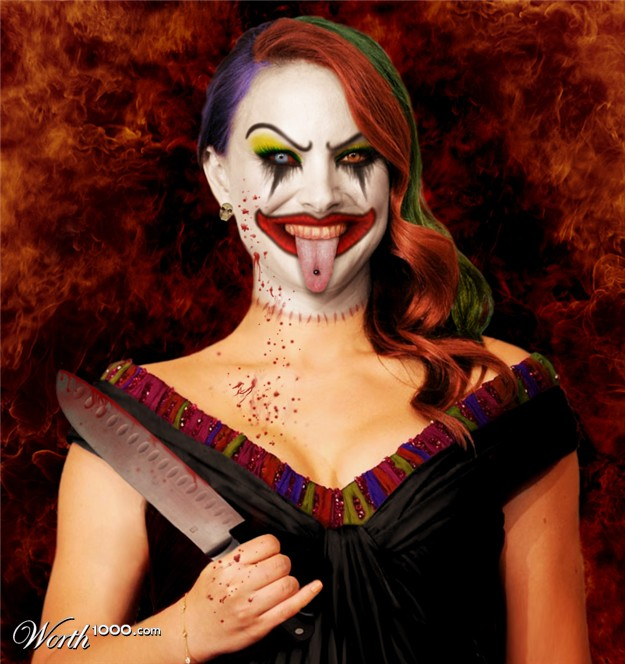 Natalie Portman The Clown