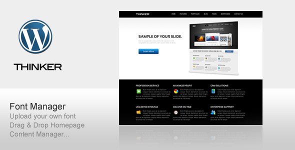Thinker WordPress Theme