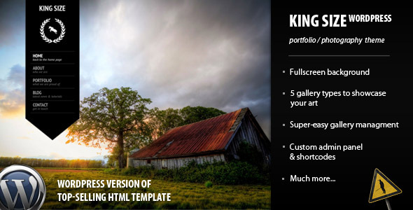 King Size WordPress Theme