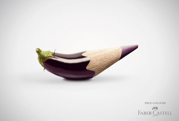 Fabercastell - Creative Print Advertisements