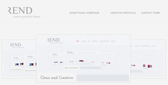 Rend WordPress Theme