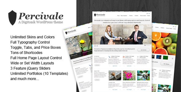 Percivale WordPress Theme