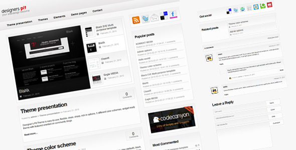 Designer's Pit - Community based template Download