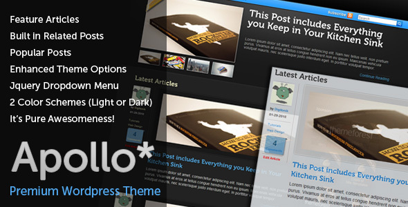 Apollo - Community WP theme Download