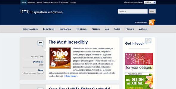 Wordpress Inspiration Magazine - Community 7 in 1 Download