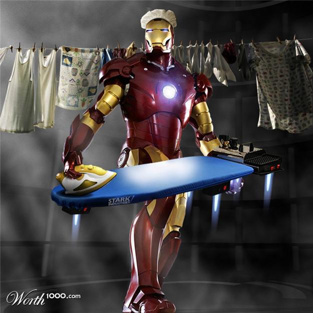 Ironing Man