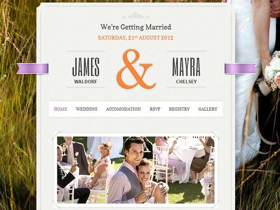 20 Best Wedding Website Templates Css Html WordPress Ginva