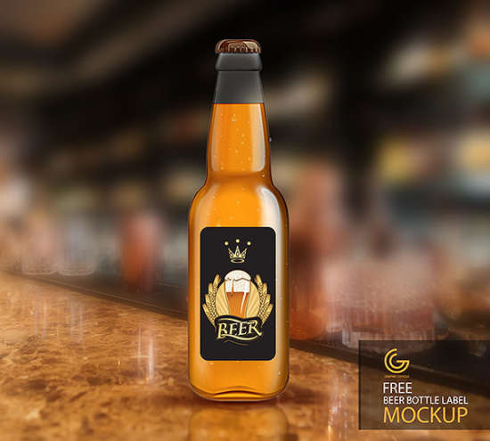 free_beer_bottle_label_mockup
